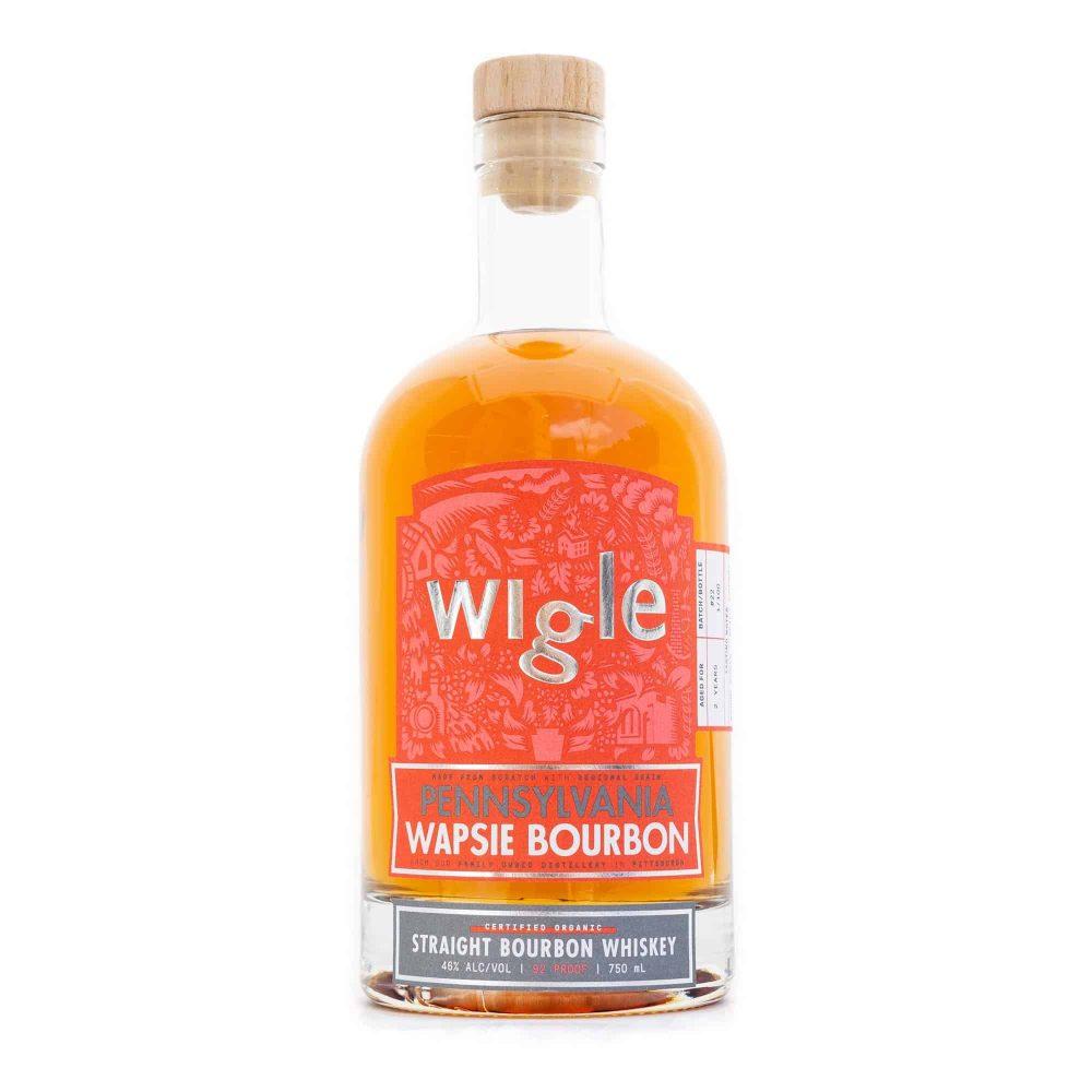 Wigle Pennsylvania Wapsie Valley Bourbon Whiskey