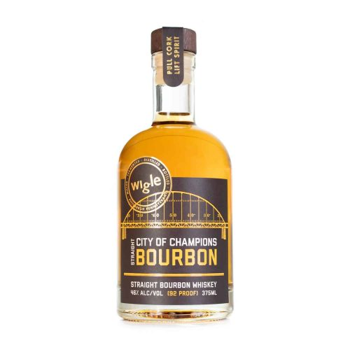 Wigle City of Champions Bourbon Whiskey Bottle